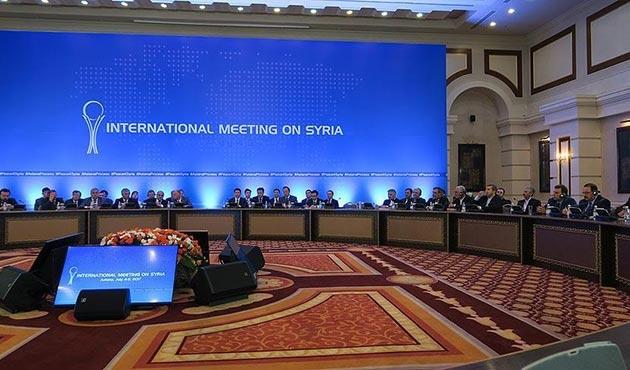 Suriye konulu 7. Astana toplantısının ön görüşmeleri başladı