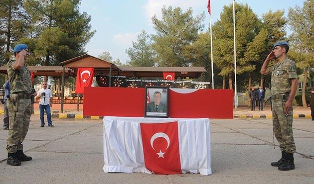 Mardin'de, şehit Uzman Çavuş Arıkan için tören