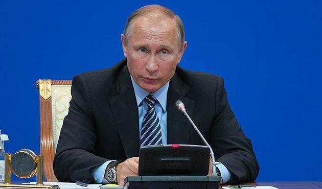 Putin'den Suriye için uluslararası topluma çağrı