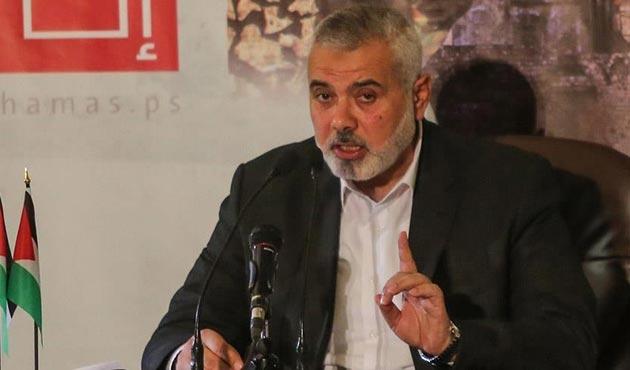 Hamas lideri Heniyye'den yeni Trump uyarısı