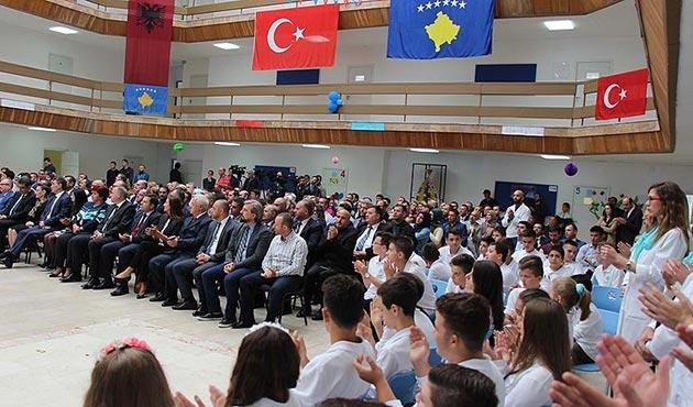Türkiye Maarif Vakfı'nın Kosova'daki okullarında ders zili çaldı