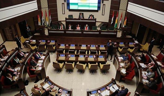 IKBY Parlamentosu'nda silah sesleri