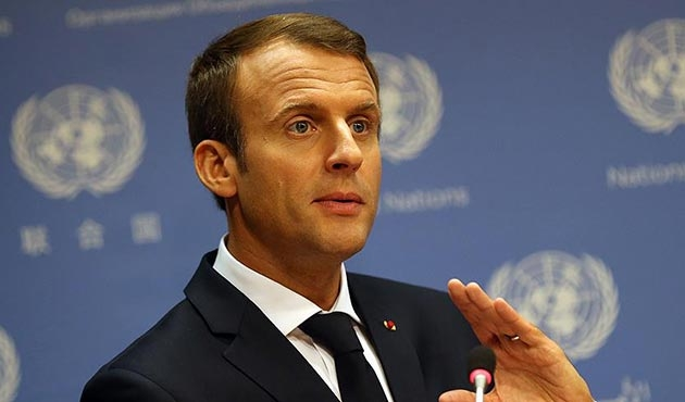 Macron: Hariri'nin istifa kararı kendi seçimiyse Lübnan'dan teyit etmeli