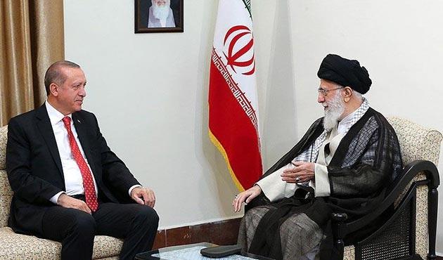 Cumhurbaşkanı Erdoğan, İran Dini Lideri Hamaney ile görüştü