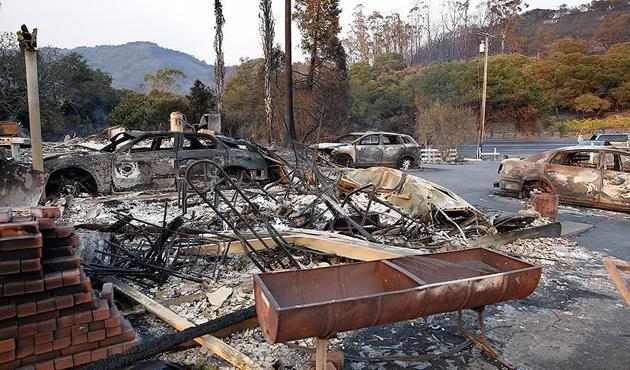 Kaliforniya'daki büyük yangında ölü sayısı 31'e yükseldi