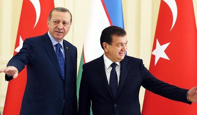 Özbekistan Cumhurbaşkanı Türkiye'yi ziyaret edecek