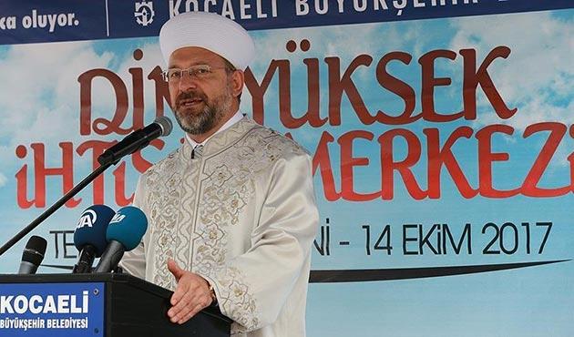 Dini Yüksek İhtisas Merkezi'nin yeni binasının temeli atıldı