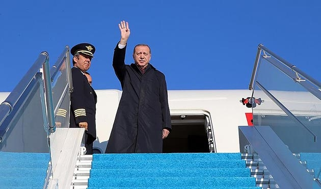 Cumhurbaşkanı Erdoğan, Polonya yolcusu
