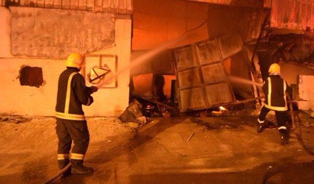 Suudi Arabistan'da yangın : 14 ölü