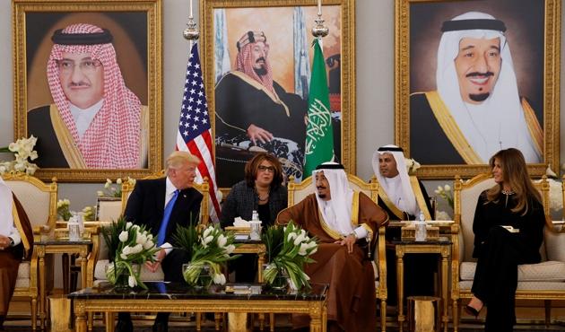 Kral Selman ve Trump 'yeni İran stratejisini' görüştü