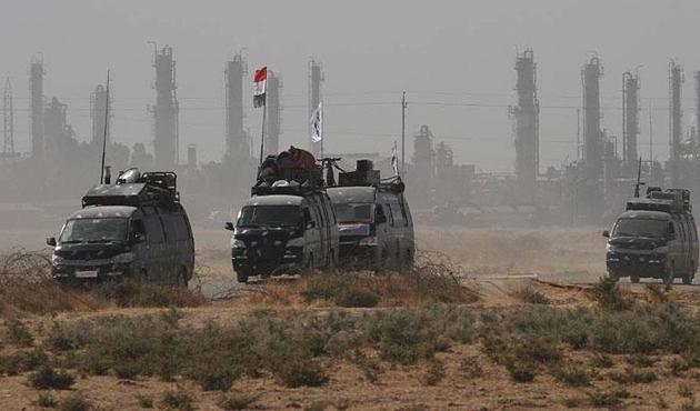 Irak güçleri Kerkük Havalimanı'nda kontrolü sağladı