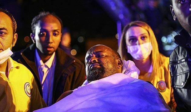 Somali'deki patlamada yaralanan 35 kişi Ankara'ya getirildi