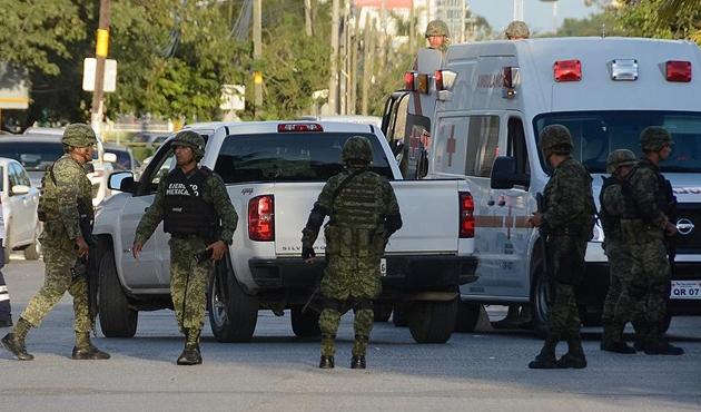 Meksika'da çıkan silahlı çatışmada 11 ölü