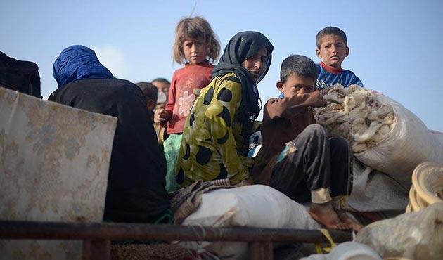 'PYD'nin Rakka operasyonundan kaçan siviller yardıma muhtaç'