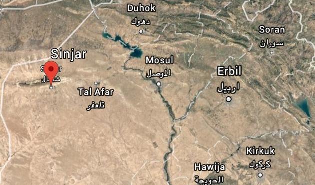 Irak güçleri Sincar'da kontrolü sağladı