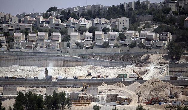 İsrail'in Filistin topraklarındaki işgal birimi tırmanışı