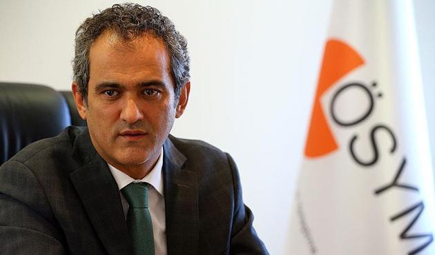 ÖSYM Başkanı: YKS için planlanan tarih 23-24 Haziran