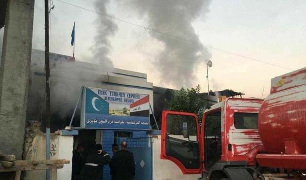 Kerkük'te Irak Türkmen Cephesi binasına saldırı