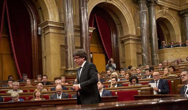 Katalonya'nın özerkliği askıya alınabilir