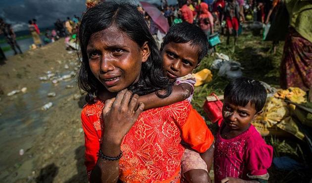 Bangladeş'te Arakanlı Müslüman sayısı 800 bine ulaştı
