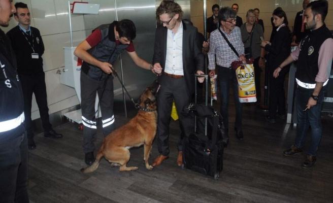 Avusturyalı yolculara 'köpek' misillemesi