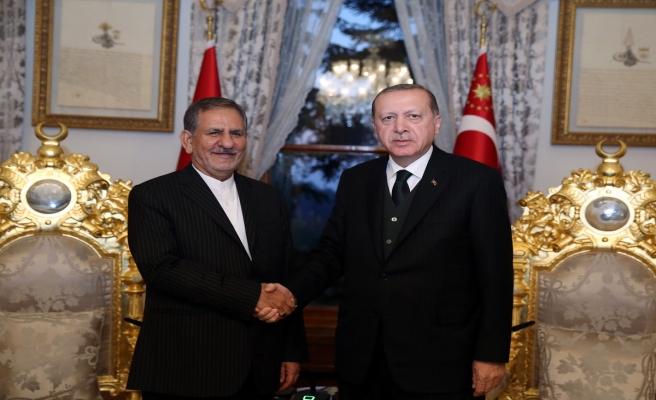 Erdoğan İshak Cihangiri ile görüştü