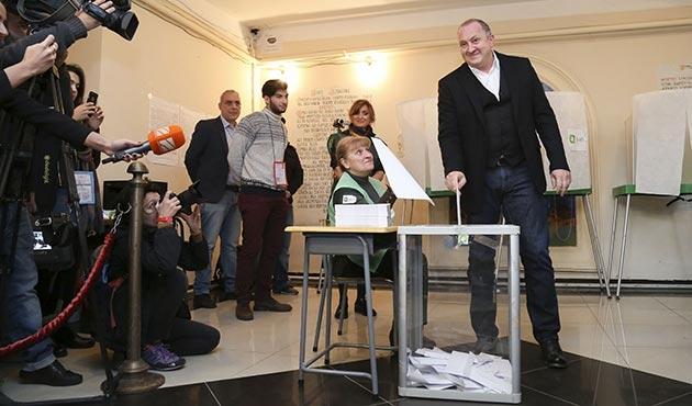 Gürcistan'da yerel seçimler yapıldı