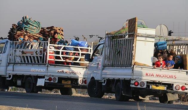 Kerkük ve Tuzhurmatu'dan 120 bin kişi göç etti