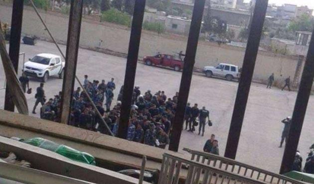 Humus hapishanesindeki isyan geçici olarak durdu