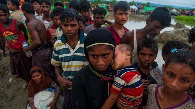 Bangladeş'e sığınan Arakanlı Müslüman sayısı 600 bini aştı