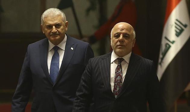 Başbakan Yıldırım ile İbadi terörle mücadele hususunda anlaştı