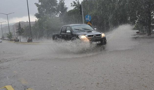 Doğu Anadolu için kuvvetli yağış uyarısı