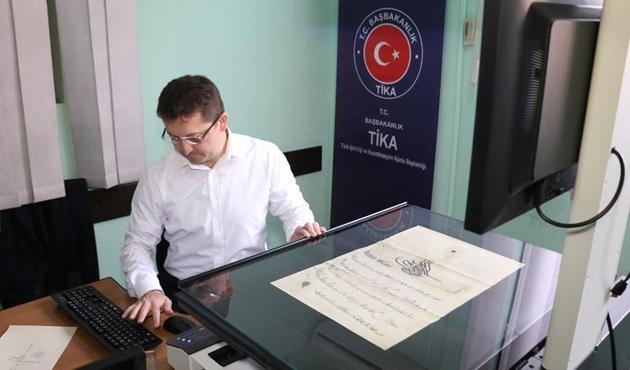 TİKA'dan Arnavutluk Arşiv Genel Müdürlüğü'ne teknik destek