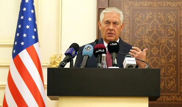 Tillerson, IKBY Başbakanı Barzani ile görüştü