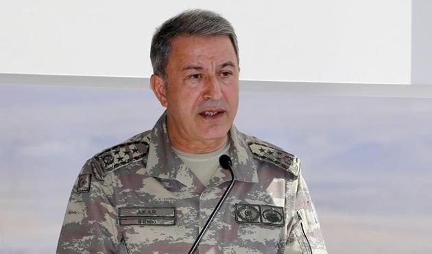 Genelkurmay Başkanı Akar'dan ABD'de PYD/YPG mesajı