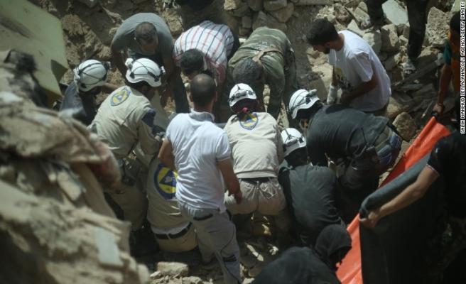 Suriye'de Beyaz Baretlilerden dünyaya Doğu Guta çağrısı