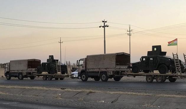 Irak güçleri ile Peşmerge arasındaki çatışmalar sürüyor