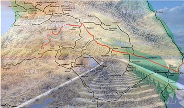 Bakü-Tiflis-Kars Demiryolu Projesi ekim sonu başlıyor