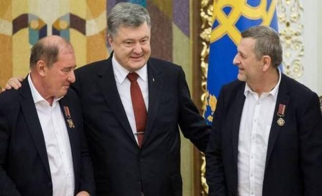 Ukrayna'dan Çiygöz ve Ümerov'a üstün hizmet nişanı