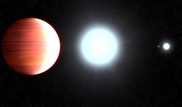 Hubble teleskobu öte-gezegen keşfetti