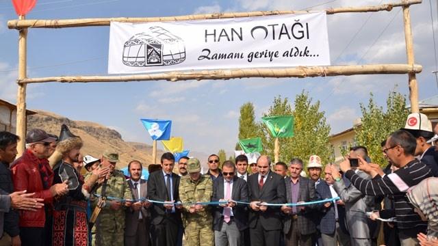 Ulupamir'de 'Han Otağı' Açıldı