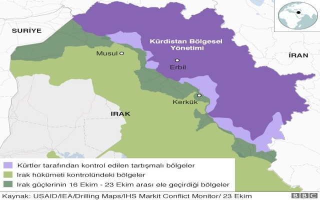 Barzani 1 Kasım'da bırakıyor