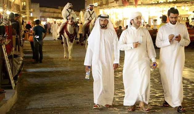 ABD Hazine Bakanı Mnuchin Katar'da