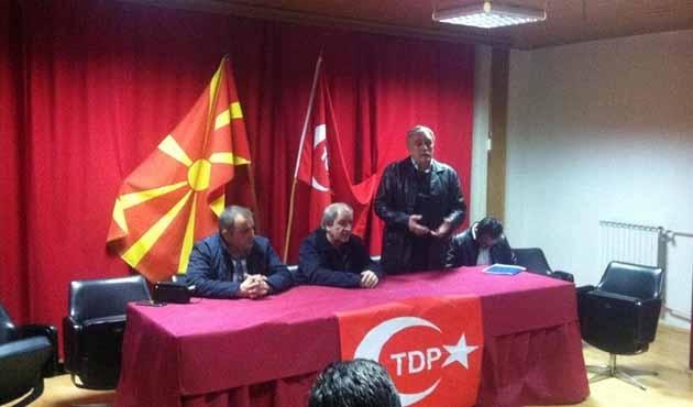 Makedonya'da Türk Demokratik Partisi bir belediye aldı