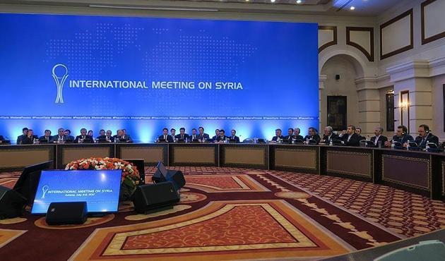 Suriye konulu 7'inci Astana toplantısı sürüyor