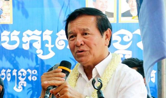Kamboçya Muhalif liderine ret