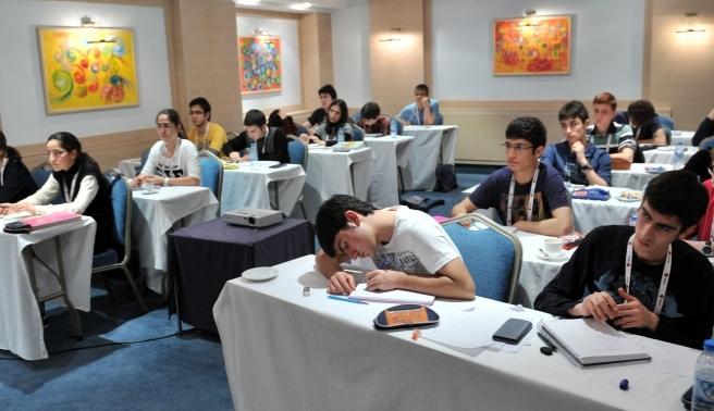 9. Uluslararası Bilgi Olimpiyatı başladı