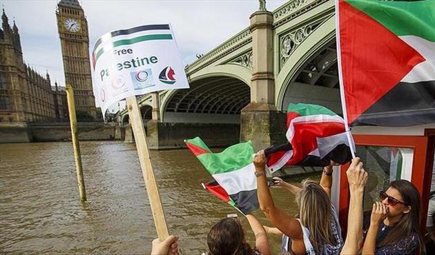 Filistinli gruplardan Theresa May'e 'Balfour' tepkisi