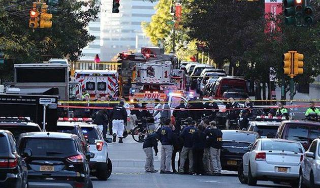New York'ta kamyonla terör saldırısı
