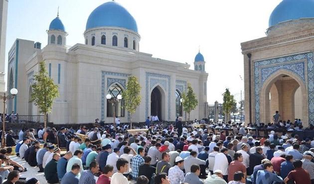 Özbekistan camilerine hoparlör talebi